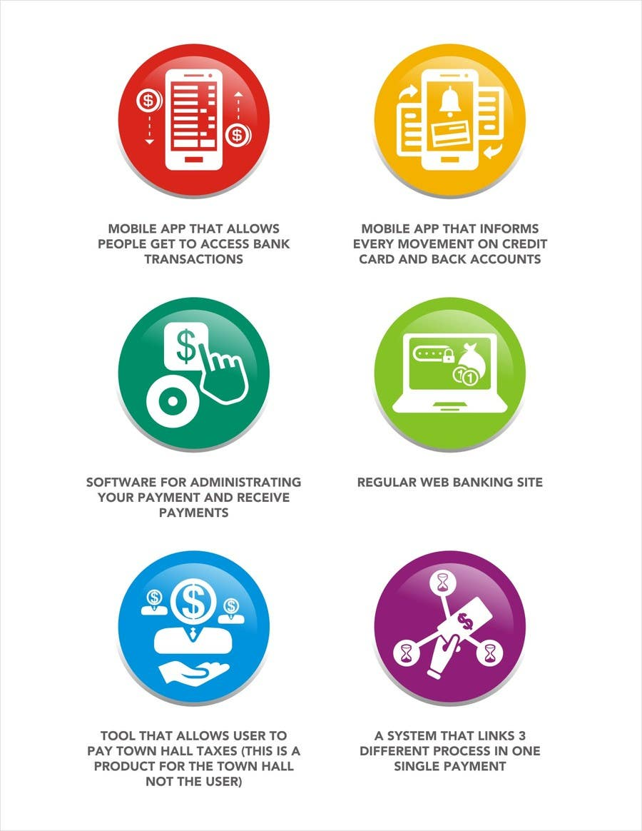 Penyertaan Peraduan #                                        9                                      untuk                                         Design some Icons for Technology products