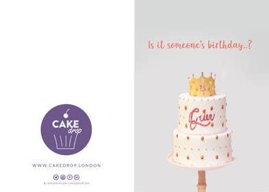 #26 for Direct Mail design (Birthday card style) by emranhossain56