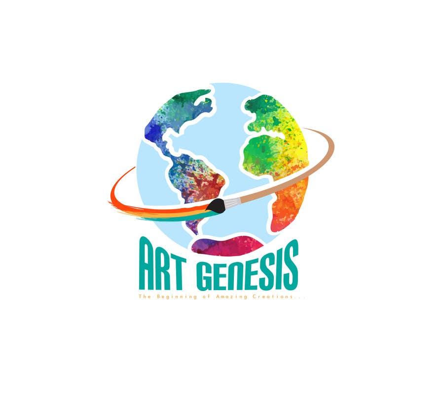 Proposition n°2 du concours Art Genesis Logo