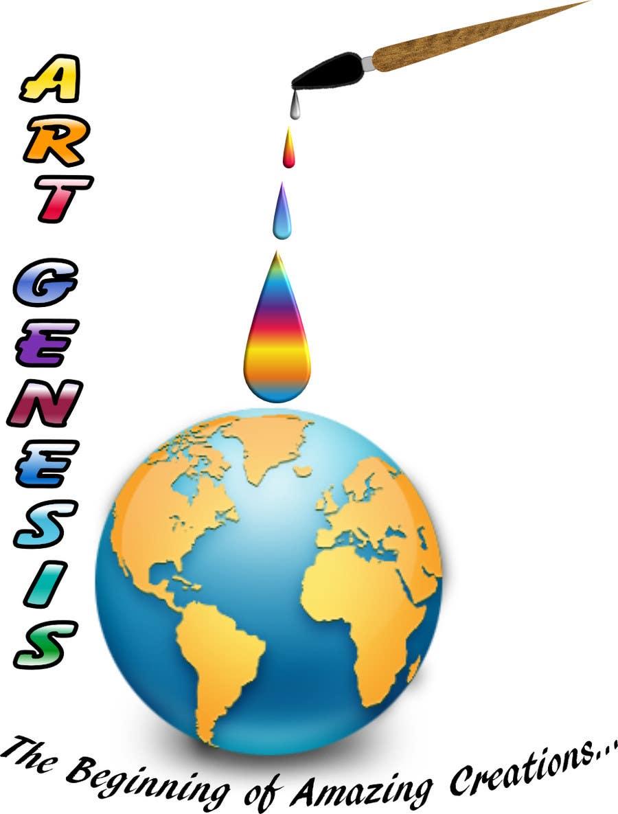 Proposition n°1 du concours Art Genesis Logo