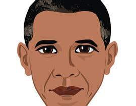 raqasa tarafından Vector Barack Obama Head! için no 93