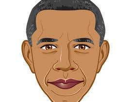 andyiommi tarafından Vector Barack Obama Head! için no 111