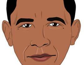 Lovelas tarafından Vector Barack Obama Head! için no 141