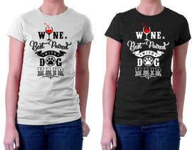 #65 for Design a Woman's T-Shirt for the dog lover by iddur