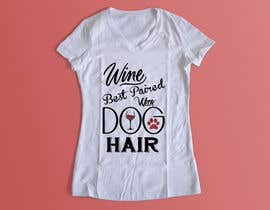 #85 for Design a Woman's T-Shirt for the dog lover by Exer1976