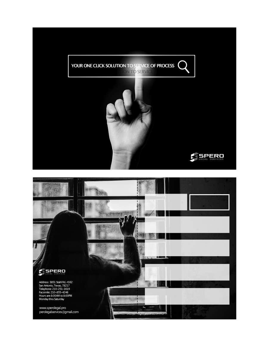 Proposition n°5 du concours Black and White Post Card Design