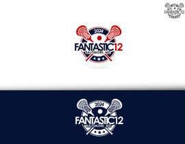 Nro 26 kilpailuun Design a logo for 2024 Fantastic 12 Lacrosse Tournament käyttäjältä Josemende