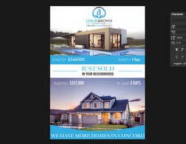 "nº 23 pour Design ""Just Sold"" Mailer Template for Real Estate Agent par timiciucandrei"