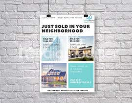 "nº 26 pour Design ""Just Sold"" Mailer Template for Real Estate Agent par timiciucandrei"