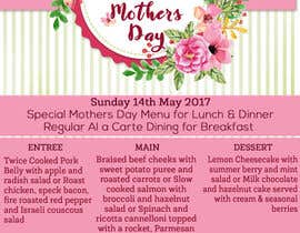 #3 for Design a Mother's Day Flyer by Kitteehdesign