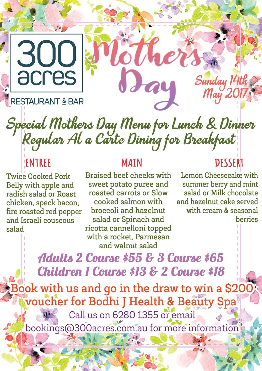 Proposition n°22 du concours Design a Mother's Day Flyer