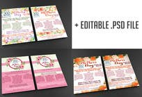 Graphic Design Kilpailutyö #24 kilpailuun Design a Mother's Day Flyer