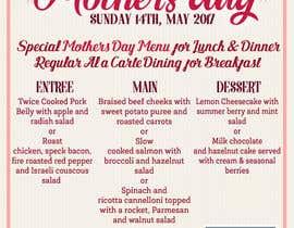nº 25 pour Design a Mother's Day Flyer par Kitteehdesign
