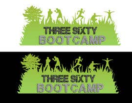 #40 for Three sixty bootcamp logo re-design by Seap05