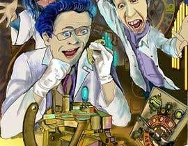 nº 72 pour Illustrate 3 Characters of 3 Scientists in a Lab par olgajozefowski
