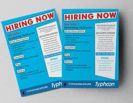 #114 for Design a Job Advert Poster by arunteotiakumar