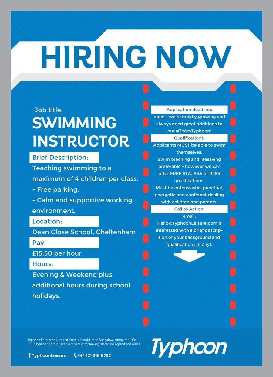 Poster design job description - Contest Entry 13 For Design A Job Advert Poster