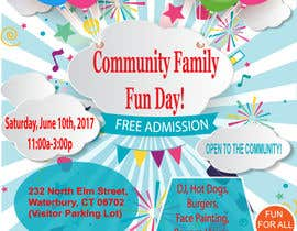 #18 for Design a Flyer for a Community Fun Day! by mdmahinshek9