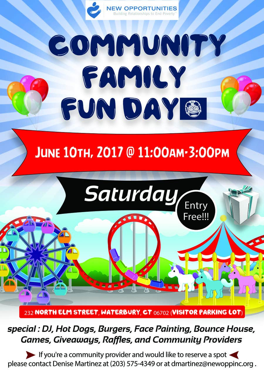 Contest Entry #24 for Design a Flyer for a Community Fun Day!