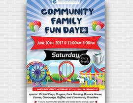 #25 for Design a Flyer for a Community Fun Day! by azadh2189