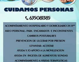 nº 14 pour Flyer publicitario - Cuidar personas par anb1809
