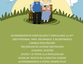 nº 5 pour Flyer publicitario - Cuidar personas par jessforero