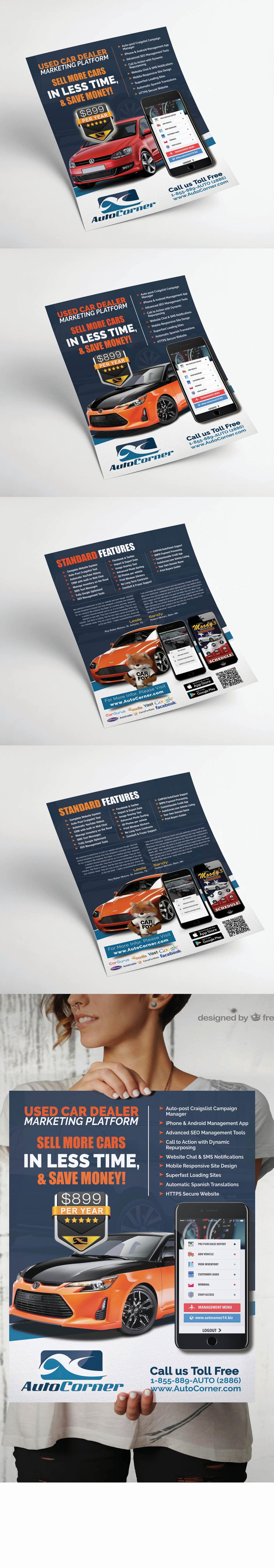 Proposition n°72 du concours Redesign our flyer