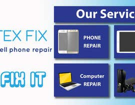 #1 for electronics repair store  banner by mouradyassin1