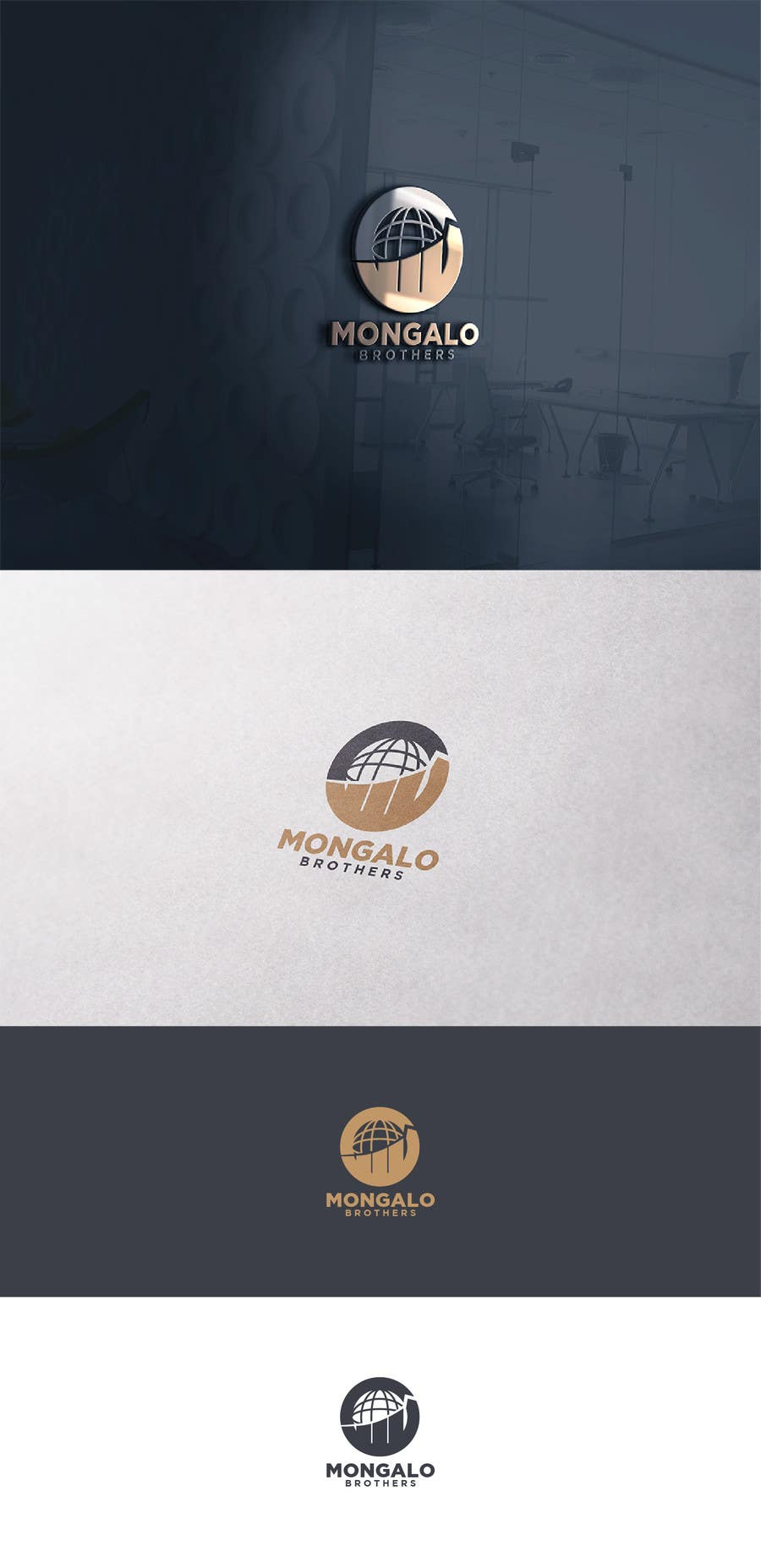 Proposition n°220 du concours Mongalo Brothers Holding Company Logo
