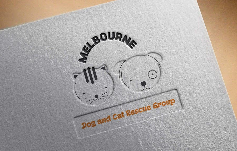 Proposition n°4 du concours Create a logo for Melbourne Dog and Cat Rescue Group