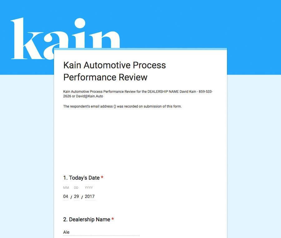 Kilpailutyö #                                        4                                      kilpailussa                                         Create a Google Form and a sharable output document