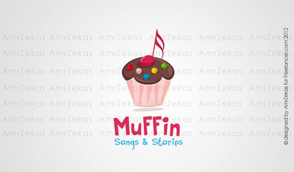 Inscrição nº 13 do Concurso para Logo Design for Muffin Songs & Stories