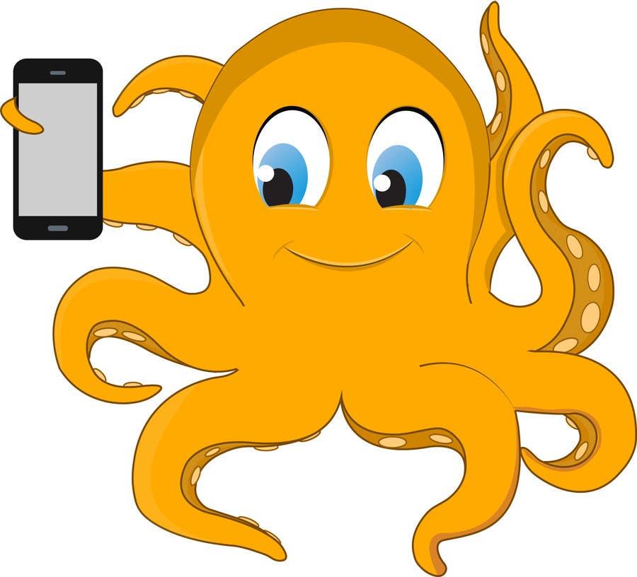 Proposition n°21 du concours Design an octopus Logo