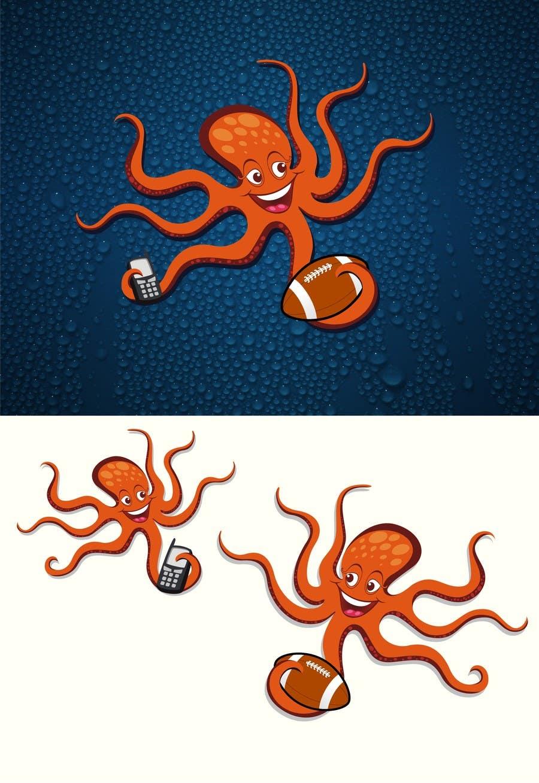 Proposition n°37 du concours Design an octopus Logo