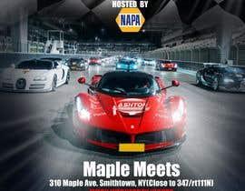 Nro 27 kilpailuun Design a Flyer for car show käyttäjältä freeland972