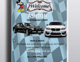 Nro 33 kilpailuun Design a Flyer for car show käyttäjältä mustufazaman05