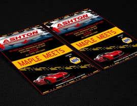 Nro 4 kilpailuun Design a Flyer for car show käyttäjältä Arifuzzaman58