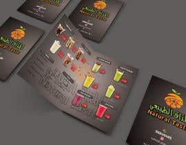 nº 11 pour Design A juice bar menu. Arabic Understanding required par ariamul123
