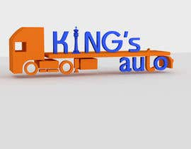 #87 for Kings Auto Logo Design by creative3ds48