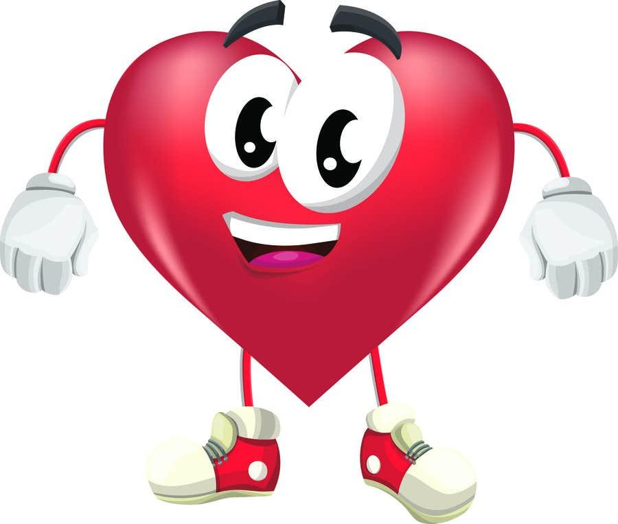 Proposition n°2 du concours Heart Mascot
