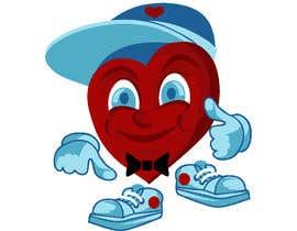 nº 11 pour Heart Mascot par dedesubeng