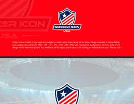 #321 for Design a Logo - Soccer Icon USA by zuhaibamarkhand
