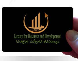 nº 529 pour Logo for ( Luxury for Business and Development  ) par GDesignerZ