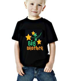 #115 for Design kids' t-shirt with two variations (boy/girl) using our brand colors and font by Nazlina21