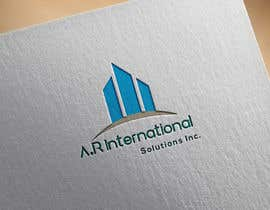 nº 56 pour Logo Design for A.R International Solutions par shemultangir