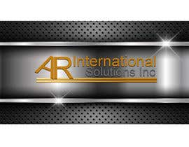 nº 47 pour Logo Design for A.R International Solutions par yassineelectro