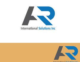 nº 44 pour Logo Design for A.R International Solutions par shahariaremonbd7