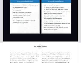 Nro 12 kilpailuun NonProfit Credit Union Website käyttäjältä greenarrowinfo