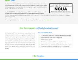 Nro 7 kilpailuun NonProfit Credit Union Website käyttäjältä Poornah