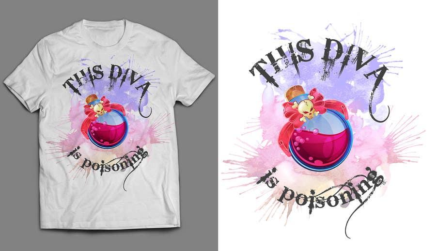 Proposition n°58 du concours Design a T-Shirt for ladies